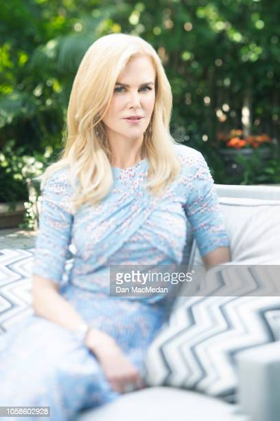Actress Nicole Kidman is photographed for USA Today on October 29 2018 in Los Angeles California