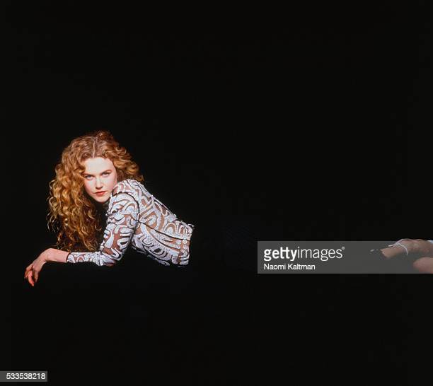 Actress Nicole Kidman is photographed on March 1 1993