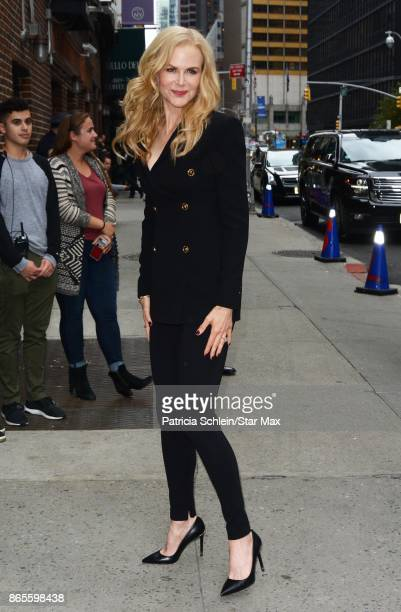Actress Nicole Kidman is seen on October 23 2017 in New York City