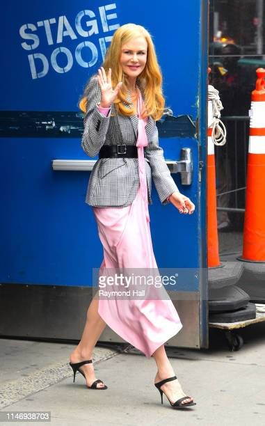 "Actress Nicole Kidman is seen outside ""good morning america"" Reese Witherspoon is seen in tribeca on May 29, 2019 in New York City."