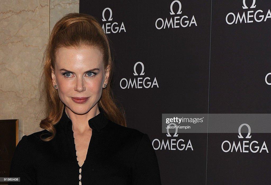 Nicole Kidman Donates Her OMEGA Constellation Timepiece : News Photo