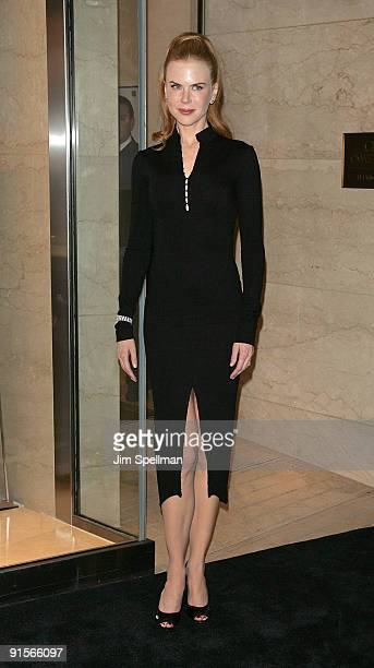Actress Nicole Kidman visits the OMEGA flagship boutique on October 7, 2009 in New York City.