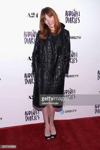 Actress Nicole LaLiberte attends A24/DIRECTV's The Adderall Diaires Premiere at ArcLight Hollywood on April 12 2016 in Hollywood California