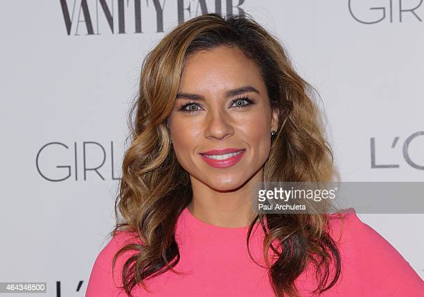 DJ / Actress Nicole Lyn attends the Vanity Fair and L'Oreal Paris Girl Rising benefit at 1 OAK on February 20 2015 in West Hollywood California