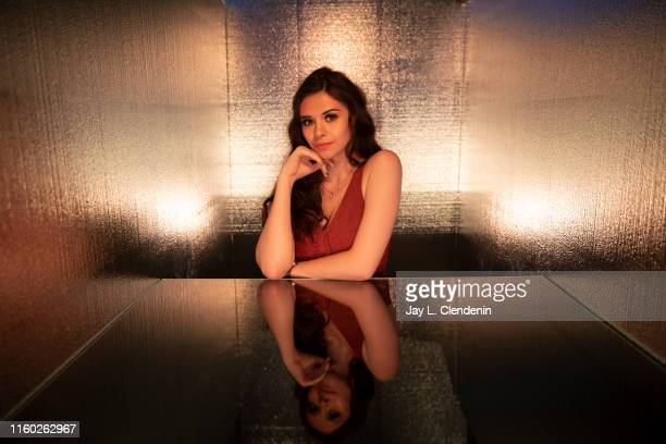 Actress Nicole Maines of 'Supergirl' is photographed for Los Angeles Times at ComicCon International on July 20 2019 in San Diego California...