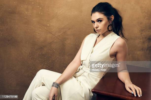 Actress Nicole Maines poses for a portrait at the 2019 SXSW Film Festival Portrait Studio on March 9 2019 in Austin Texas