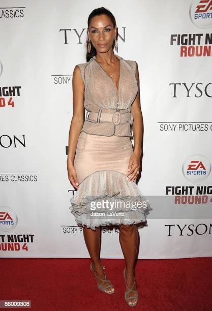 Actress Nicole Mitchell Murphy attends the premiere of Tyson at the Pacific Design Center on April 16 2009 in West Hollywood California