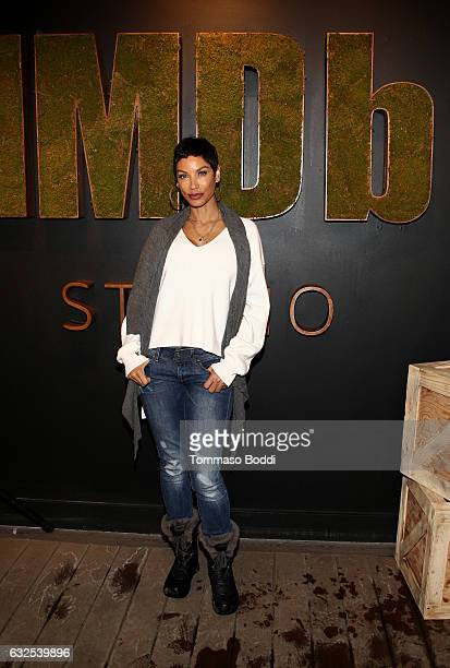Actress Nicole Mitchell Murphy attends the private 50th Birthday Party for IMDb's Col Needham Presented By Amazon Video Direct at the 2017 Sundance...