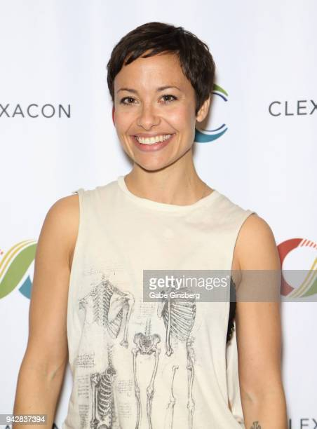 Actress Nicole Pacent attends the ClexaCon 2018 convention at the Tropicana Las Vegas on April 6, 2018 in Las Vegas, Nevada.