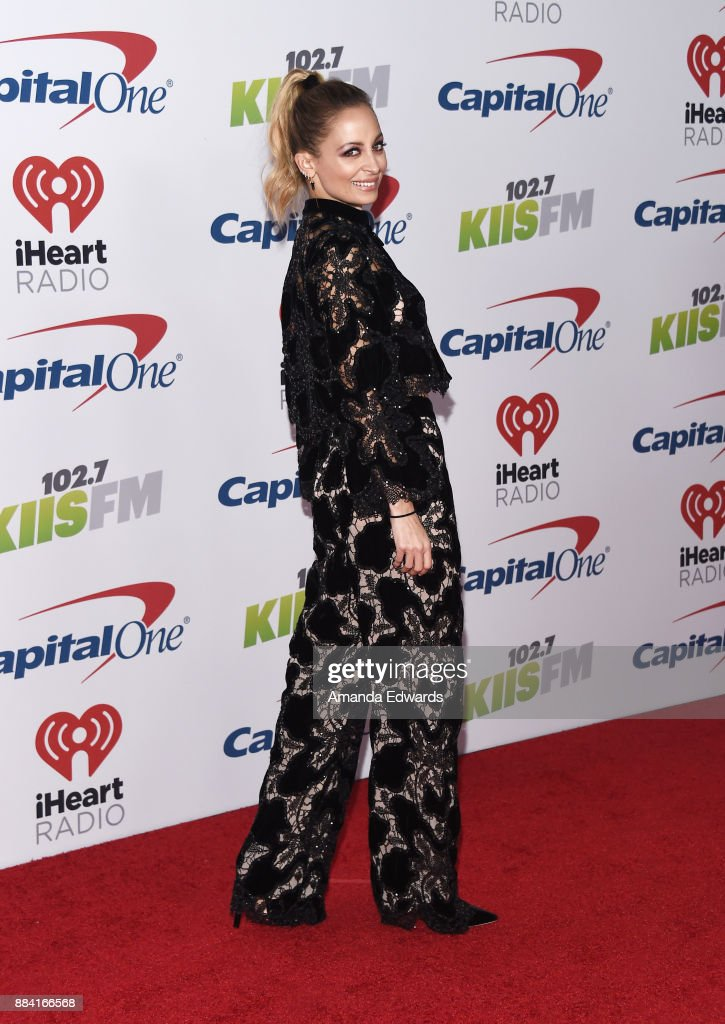 Actress Nicole Richie arrives at 102.7 KIIS FM's Jingle Ball 2017 at The Forum on December 1, 2017 in Inglewood, California.