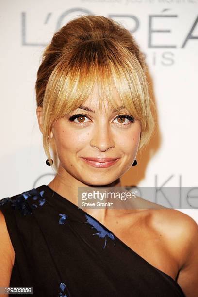 Actress Nicole Richie arrives at ELLE's 18th Annual Women in Hollywood Tribute held at the Four Seasons Hotel on October 17 2011 in Los Angeles...