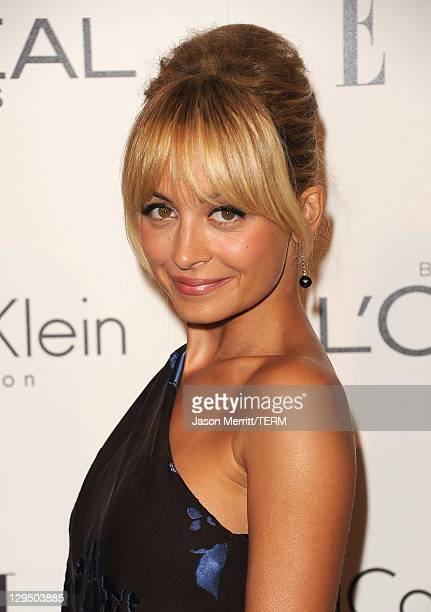 Actress Nicole Richie arrives at ELLE's 18th Annual Women in Hollywood Tribute held at the Four Seasons Hotel on October 17, 2011 in Los Angeles,...