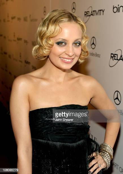 Actress Nicole Richie arrives at the 2011 Art Of Elysium Heaven Gala held at the California Science Center on January 15 2011 in Los Angeles...