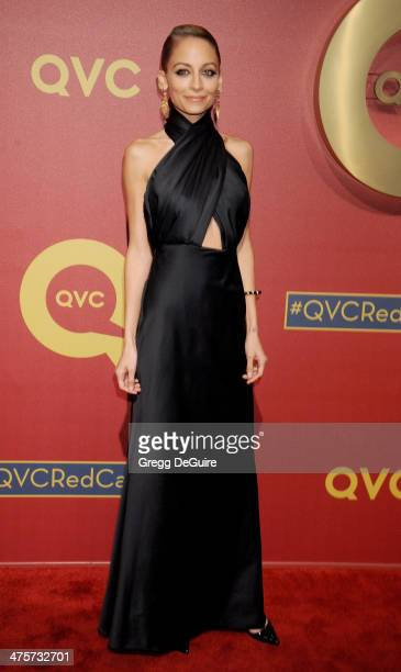 Actress Nicole Richie arrives at the QVC 5th Annual Red Carpet Style event at The Four Seasons Hotel on February 28, 2014 in Beverly Hills,...