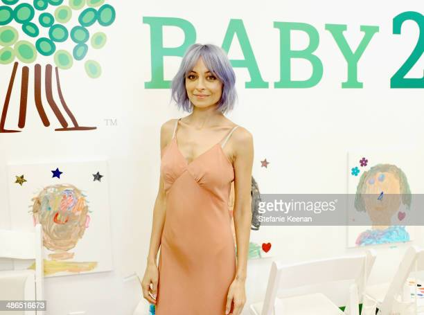 Actress Nicole Richie attends Baby2Baby Mother's Day Party presented by Tiny Prints at Baby2Baby Headquarters on April 24 2014 in Los Angeles...