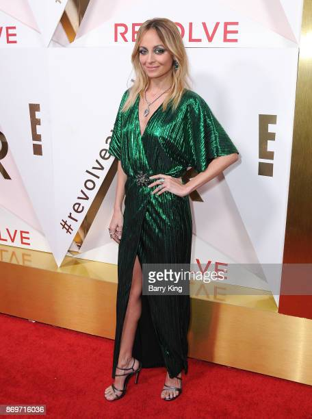 Actress Nicole Richie attends #REVOLVEawards at DREAM Hollywood on November 2 2017 in Hollywood California