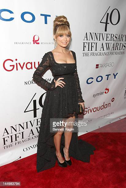 Actress Nicole Richie attends the 40th Annual Fifi Awards at Lincoln Center on May 21 2012 in New York City