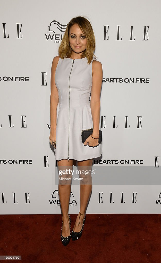 Actress Nicole Richie attends the ELLE's Women in Television Celebration at Soho House on January 24, 2013 in West Hollywood, California.