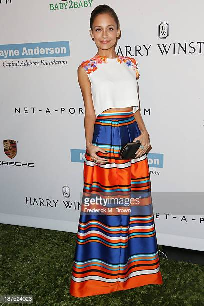 Actress Nicole Richie attends the Second Annual Baby2Baby Gala at the Book Bindery on November 9 2013 in Culver City California
