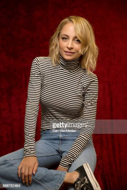 Actress Nicole Richie is photographed for USA Today on April 10 2017 in Century City California PUBLISHED IMAGE