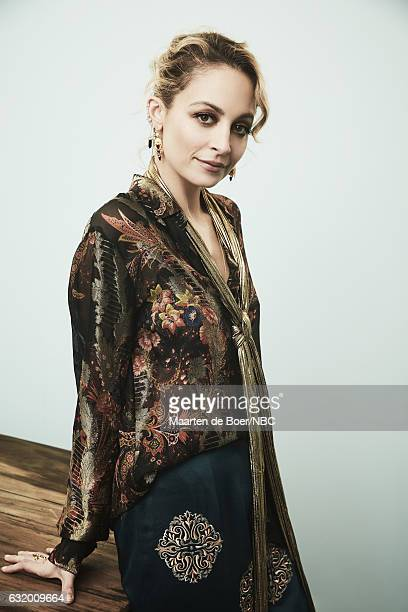 Actress Nicole Richie of 'Great News' poses for a portrait in the NBCUniversal Press Tour portrait studio at The Langham Huntington Pasadena on...