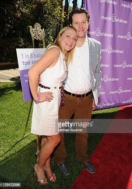 Actress Nicole Sullivan and Jason Packham attend the March of Dimes Foundation Samantha Harris Host 5th Annual Celebration of Babies Luncheon held at...