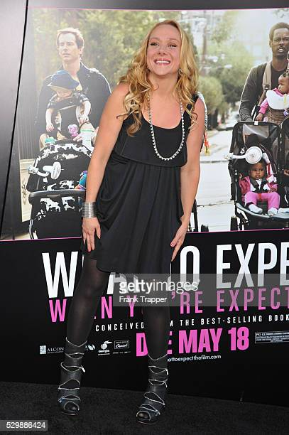 Actress Nicole Sullivan arrives at the premiere of What To Expect When Your Expecting premiere held at Grauman's Chinese Theater