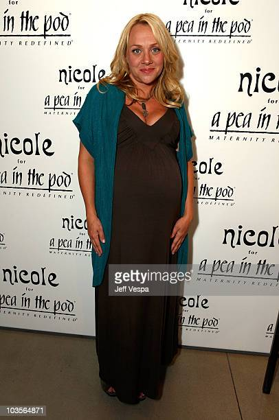 Actress Nicole Sullivan attends A Pea in the Pod launch party for the Nicole Richie maternity collection held at A Pea In The Pod on August 6 2009 in...
