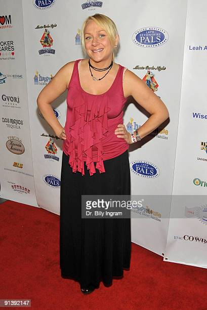 Actress Nicole Sullivan attends Nancy Cartwright's 4th Annual Monte Carlo Night to benefit PALS on October 3 2009 in Northridge California