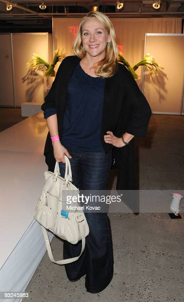 Actress Nicole Sullivan attends The Buzz Girls Two Year Anniversary Party at California Market Center on November 19 2009 in Los Angeles California