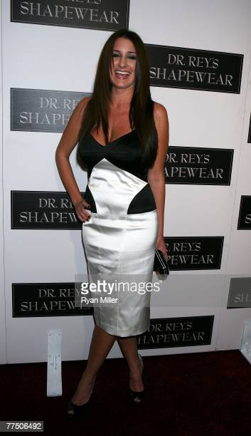 Actress Nicole Travolta arrives at the launch party for Dr Robert Rey's Shapewear hosted by Carmen Electra and Denise Richards held at Hollywood hot...