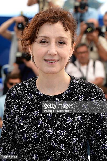 Actress Nicoletta Braschi attends the 'Jury Cinefondation' Photocall during the 66th Annual Cannes Film Festival on May 22 2013 in Cannes France