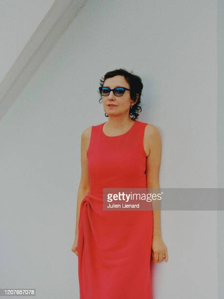 Actress Nicoletta Braschi poses for a portrait on May 2018 in Cannes France