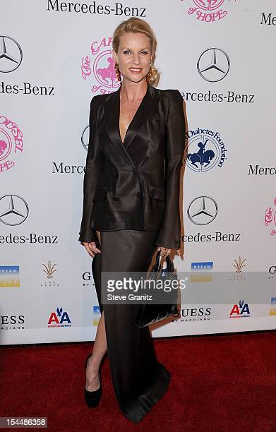 Actress Nicollette Sheridan arrives at the 26th Anniversary Carousel Of Hope Ball presented by MercedesBenz at The Beverly Hilton Hotel on October 20...