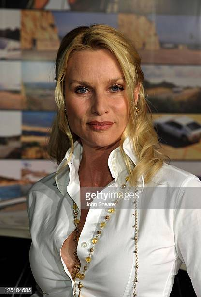 Actress Nicollette Sheridan arrives at the US Launch Event for New Lotus Cars at a private residence on November 12 2010 in Los Angeles California