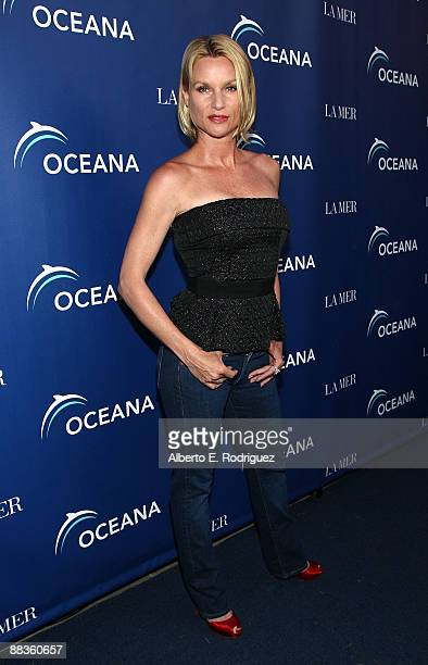 Actress Nicollette Sheridan arrives at the World Oceans Day celebration hosted by La Mer and Oceana at Private Residence on June 8 2009 in Los...