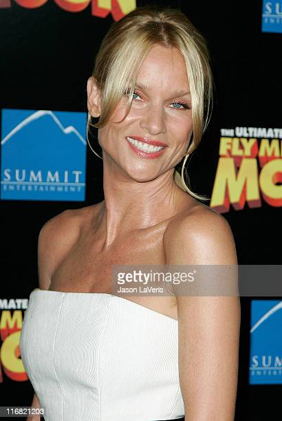 Actress Nicollette Sheridan attends the Los Angeles premiere of Fly Me to the Moon at the DGA Theater on August 3 2008 in Los Angeles California