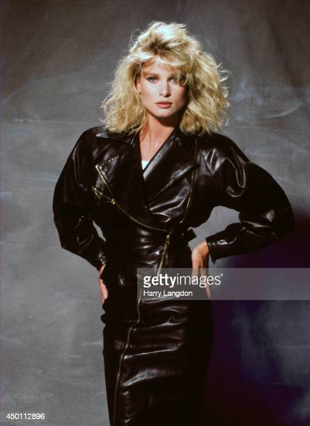Actress Nicollette Sheridan poses for a portrait in 1987 in Los Angeles California