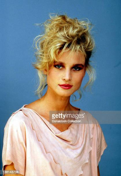 Actress Nicollette Sheridan poses for a portrait in1989 in Los Angeles California