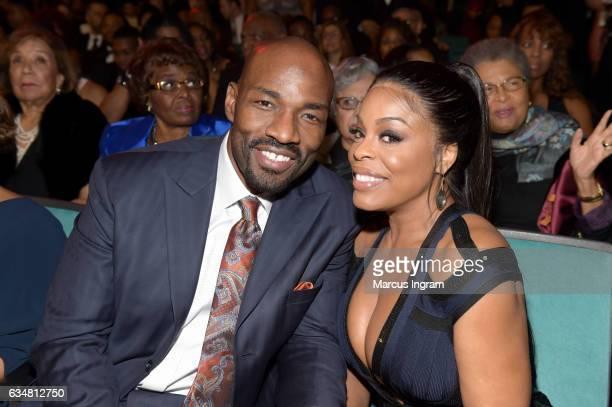 Actress Niecy Nash and Jay Tucker attend the 48th NAACP Image Awards at Pasadena Civic Auditorium on February 11 2017 in Pasadena California