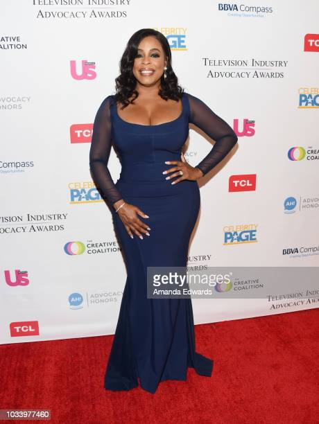 Actress Niecy Nash arrives at 2018 Television Advocacy Awards Benefiting The Creative Coalition at the Sofitel Los Angeles at Beverly Hills on...