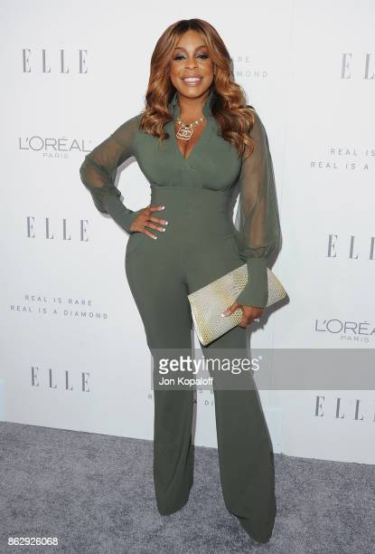 Actress Niecy Nash arrives at ELLE's 24th Annual Women in Hollywood Celebration at Four Seasons Hotel Los Angeles at Beverly Hills on October 16 2017...
