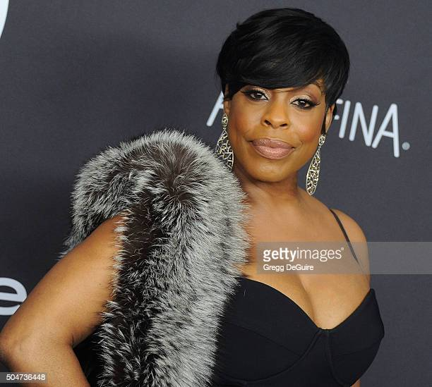 Actress Niecy Nash arrives at the 2016 InStyle And Warner Bros 73rd Annual Golden Globe Awards PostParty at The Beverly Hilton Hotel on January 10...