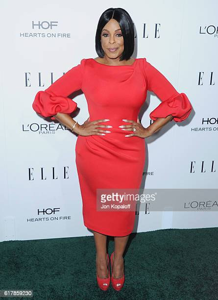 Actress Niecy Nash arrives at the 23rd Annual ELLE Women In Hollywood Awards at Four Seasons Hotel Los Angeles at Beverly Hills on October 24 2016 in...