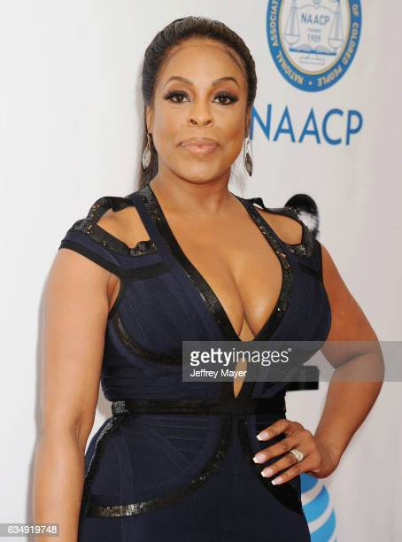 Actress Niecy Nash arrives at the 48th NAACP Image Awards at Pasadena Civic Auditorium on February 11 2017 in Pasadena California