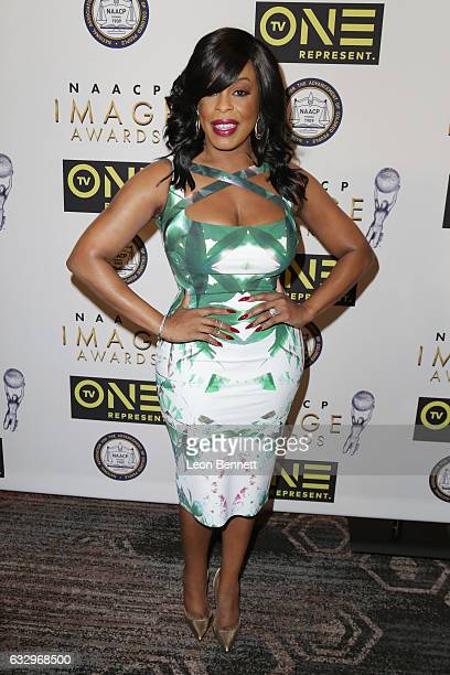 Actress Niecy Nash arrives at the 48th NAACP Image Awards Nominees' Luncheon at Loews Hollywood Hotel on January 28 2017 in Hollywood California