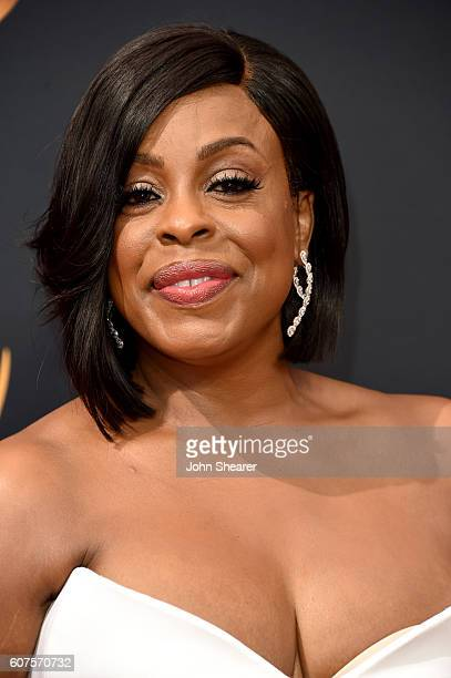 Actress Niecy Nash arrives at the 68th Annual Primetime Emmy Awards at Microsoft Theater on September 18 2016 in Los Angeles California