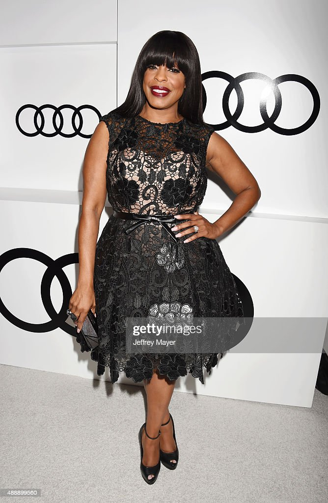 Actress Niecy Nash arrives at the Audi Celebrates Emmys Week 2015 at Cecconi's on September 17, 2015 in West Hollywood, California.