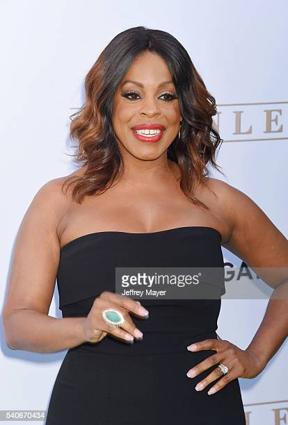 Actress Niecy Nash arrives at the premiere of OWN's 'Greenleaf' at The Lot on June 15 2016 in West Hollywood California