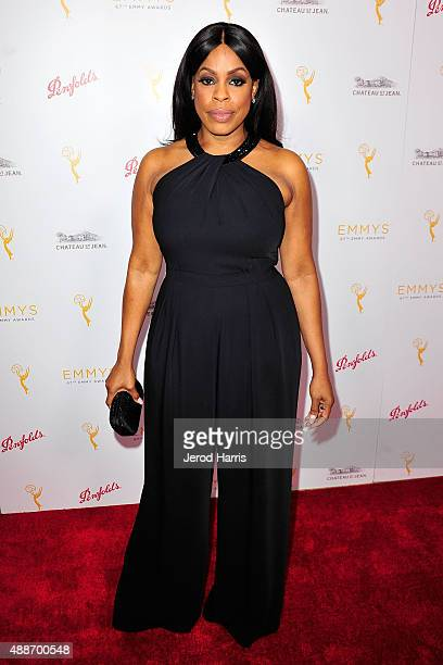 Actress Niecy Nash arrives at the Television Academy Celebrates the 67th Emmy Award Nominees for Outstanding Writing at Montage Beverly Hills on...